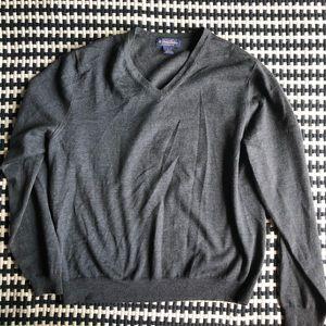 Brooks brothers v neck sweater